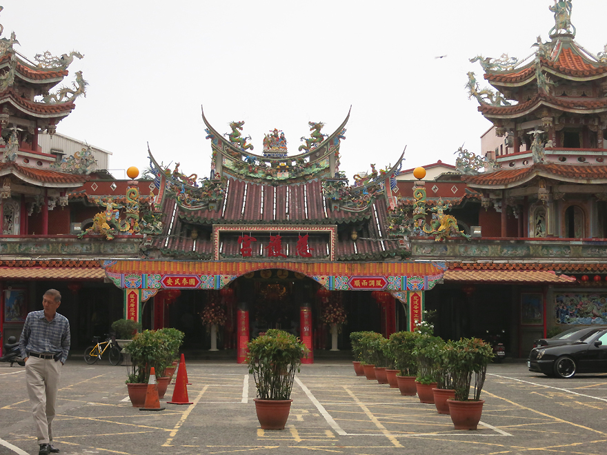 This Qing-era Temple was very eye catching