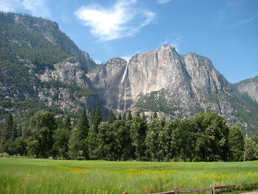 Geological forces worked wonders creating waht is today knowan as Yosemite